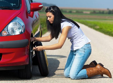 Tips for Changing a Flat Tire