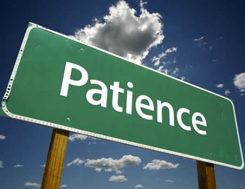 Let patience be your guide for Home Insurance